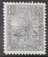 P 254 ++ MADAGASCAR 1903  HINGED PLAKREST - Madagaskar (1960-...)