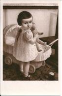Jolie  FILLETTE  Et Son Nounours  -  Bouroult R 1939 - Ritratti