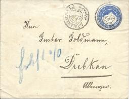 1929 Ganzsache Nach Deutschland - Égypte