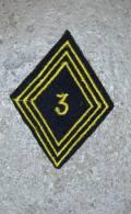 Insigne Tissu Losange Mle 45   3° Chasseurs D´Afrique - Esercito