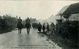 GRANDES MANOEUVRES D'AUTOMNE INFANTERIE INSTALLATION DES CUISINES 1907 - Manovre