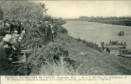 GRANDES MANOEUVRES DE L'OUEST MARCILLY MITRAILLEUSES 41 INFANTERIE 1912 - Manovre
