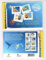 Les Grandes Heures De La Natation   Collector De 8 Timbres 2013 Neuf ** Sous Blister - Collectors