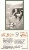 Postcard Blood Transfusion Service Centre WW2 Nostalgia Van Nurse Repro - Red Cross