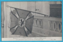 C.P.A. Drapeau Allemand 1914 - Régiments