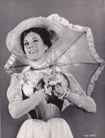 """¤¤  -  Photo De La Chanteuse Et Actrice Britanique """" Julie ANDREWS """" Dans Le Rôle De Mary Poppins De Walt-Disney  -  ¤¤ - Célébrités"""