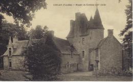 ( 29 ) GARLAN- Le Manoir De Kervezec  XVI  Siècle    -TBE --Circulée   1937  ( 2 Scanns) - France
