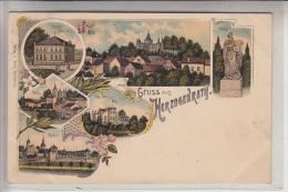 5120 HERZOGENRATH, Gruss Aus....Lithographie 190... - Herzogenrath