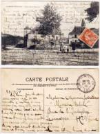 LAMOTHE FENELON - Place De La Bascule - Cachet Perlé (60163) - France