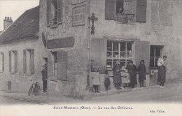 ST MAXIMIN : Devanture De L'Epicerie - Tabacs POTDEVIN Rue Des Orfèvres - Très Belle Carte ! - Sonstige Gemeinden