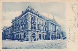 DÜSSELDORF - 1899 , Tonhalle - Bahnpost COELN-HANNOVER  Zug 203 , Nach Haag / NL - Duesseldorf