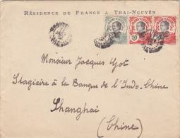 INDOCHINE BUREAU DE THAI-NGUYEN  CACHET D'ARRIVEE