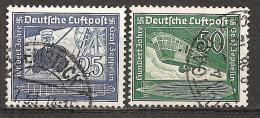 DR 1938 // Michel 669/670 O (3773) - Gebraucht