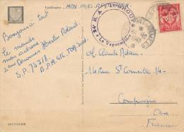TUTTLINGEN - 1949 , POSTES AUX ARMEES , Militärpostmarke - Nach Compiegne - France
