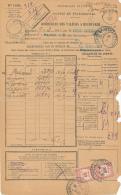 PARIS - 1931 , Nach Hendaye - Postauftragsmarken - France