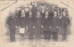 TERGNIER : Concours De Pêche D´Août 1908 - Le Comité - Rare ! - Frankreich