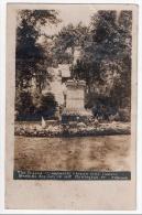 Burlington, The Statue Of Lafayette Strewn With Flowers, Bastille Day, July 14 1918, CH. Bessey, R. P., Carte-photo - Burlington