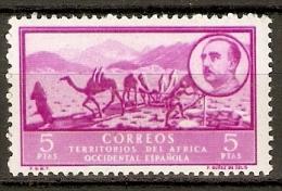 AFRICA OCCIDENTAL EDIFIL 17* MLH - Spanische Sahara