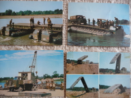 """Pont D'assaut Et Bacs """"GILLOIS"""" Des Années 1965/70 - Manovre"""