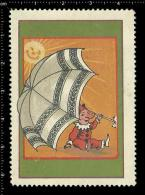 Old Original Poster Stamp(cinderella,reklamem Arke) Clown Buffoon Commedia Circus Zirkus Comedy - Cinderellas