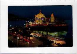 Nice, A-M 06, Promenade Et Casino, Effet De Nuit, Animée - Ed SICA - Mounié - YT 547 Mercure - Flamme Nice - Niza