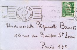 719 Sur Petite Enveloppe - 1921-1960: Moderne