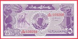 Sudan -  25 Piastres - UNC - 1987 / Papier Monnaie - Billet - Soudan - Soudan