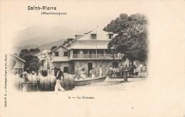 SAINT-PIERRE LA DOUANE MARTINIQUE 1900 - Unclassified