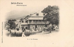 SAINT-PIERRE LA DOUANE MARTINIQUE 1900 - Martinique