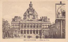 Cp , 42 , SAINT-ETIENNE , L'Hôtel De Ville - Saint Etienne