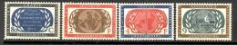 Luxembourg: Yvert N° 496/9**; MNH; 10ème Anniversaire De La Charte Des Nations Unies, Cote 14.00€ - Luxembourg