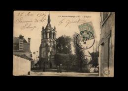 18 - SAINTE-SOLANGE - église - France