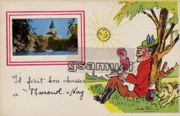 85 -  Illustrateur -  Il Fait Bon Chasser à Mareuil-sur-Lay. - (voir Scan Recto-verso). - Mareuil Sur Lay Dissais