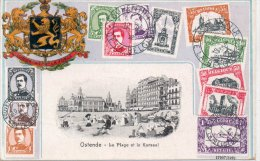 """OSTENDE """"La Plage Et Le Kursaal"""" - Belgique"""
