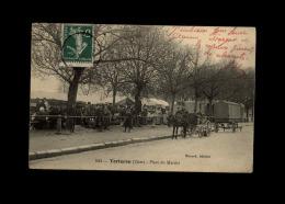 18 - TORTERON - Marché - Roulotte - France