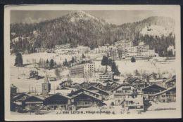 SVD102 LEYSIN - VILLAGE ET HOTELS - VD Vaud