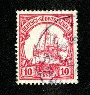 (1517)  S.W.A. 1901  Mi.13 (o)  Catalogue  € 1.00 - Colony: German South West Africa