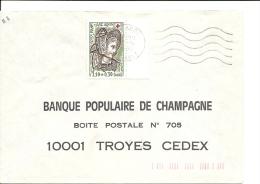 France Lettre Simple Intérieur Non Urgent, Timbre N° 2070 Validité  1/12/79 Au 4/7/80 = 216 Jours - France