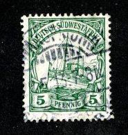 (1518)  S.W.A. 1906  Mi.25 (o)  Catalogue  € 1.70 - Colony: German South West Africa