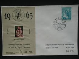 E93 Op Brief, Oplage 500 Ex., Genummerd - Sur Lettre, Tirage 500 Ex., Numéroté.. - Erinnofilia