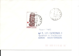 France Lettre Simple Intérieur Non Urgent, Timbre N° 2116 Validité  6/11/80 Au 3/7/81= 210  Jours - France