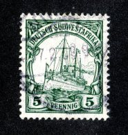 (1523)  S.W.A. 1906  Mi.25 (o)  Catalogue  € 1.70 - Colony: German South West Africa