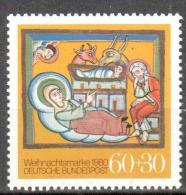 Germany BRD 1980  Christmas Art. Religions  Michel 1066 MNH (**). - [7] Repubblica Federale
