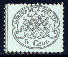 Roman States 21A    Og  Vlh    Reprint?    1887 - Papal States