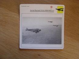 SAVOIA MARCHETTI SM 81 Pipistrello  Bombardier Lourd  Italie FICHE AVION Avec Description    Aircraft Aviation - Vliegtuigen