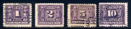Canada  J1, J2, J4, J5   Used  Sound    1906 - Postage Due