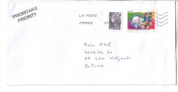 GOOD FRANCE Postal Cover To ESTONIA 2013 - Good Stamped: Marianne ; Europa - France