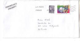 GOOD FRANCE Postal Cover To ESTONIA 2013 - Good Stamped: Marianne ; Europa - Frankrijk