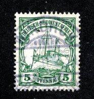 (1525)  S.W.A. 1906  Mi.25 (o)  Catalogue  € 1.70 - Colony: German South West Africa