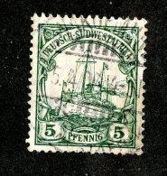 (1526)  S.W.A. 1906  Mi.25 (o)  Catalogue  € 1.70 - Colony: German South West Africa